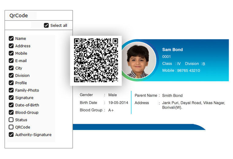 Get QR code scanning for every different field within Icard Xpress