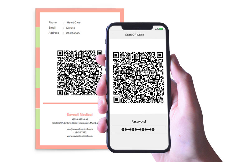 Get encrypted QR code scanning through specific Scanners and with valid Key with Icard Xpress