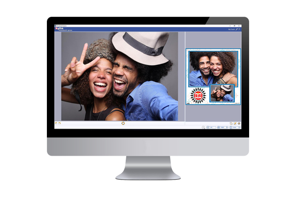 PhotoBooth- Convert any PC to  Photobooth, Ready Designs and sizes. Print, Share on mobile.