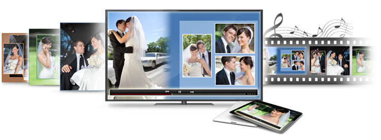 Video Xpress helps for creating Album Xpress project Slideshow