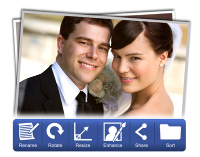 Video Xpress is loaded with new photo manager, crop, rotate, rename, enhance, share, sort