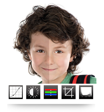 Make the photos look Rich and Lively by doing RGB Color Corrections in Video Xpress