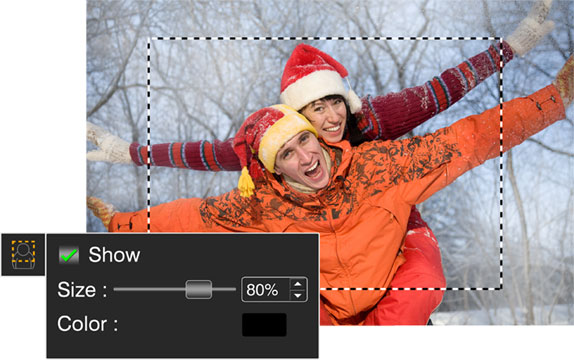 Make the face area adjustments right & accurate with Photo Xpress