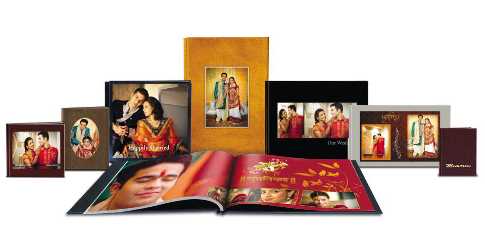 Ready to use Standard Album Types & Sizes  with several inbuilt album designs in Album Xpress Pro