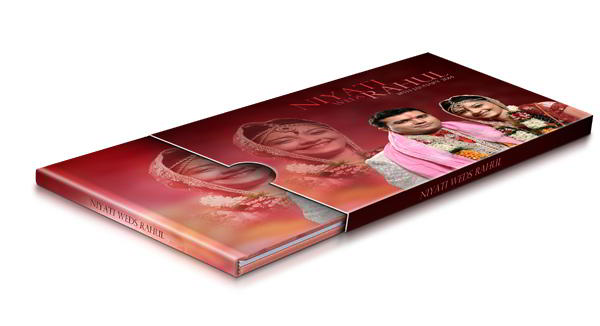 Design cameo covers by adding reference image for designing with Album Xpress