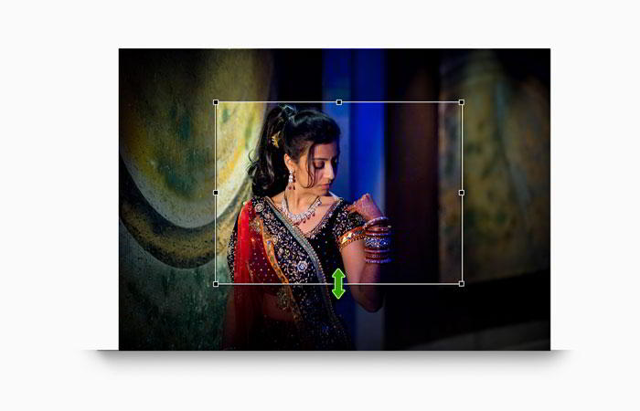 On-board Photo crop helps designing page without any image loss in Album Xpress Pro
