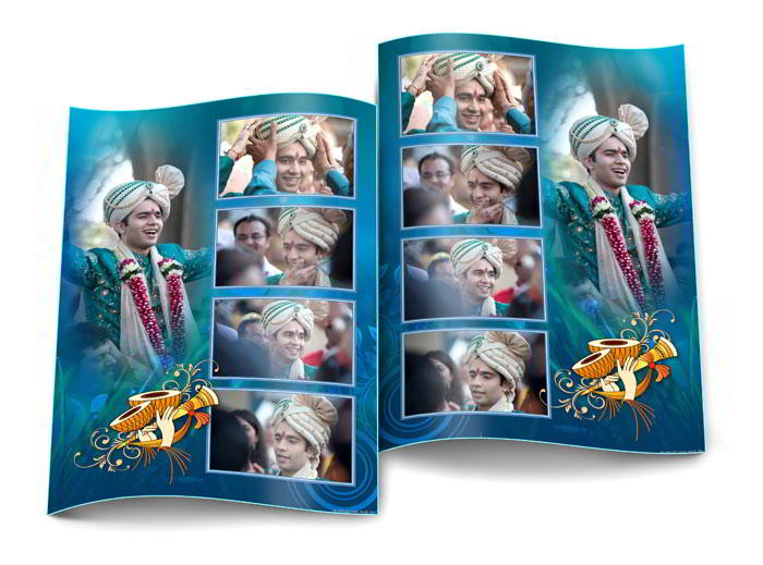 Flip page horizontally or vertically without flipping photos in Album Xpress Pro
