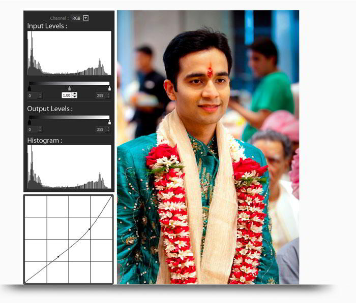 Add Curve & Level in Photos by using tools which can be used to edit photos in Album Xpress Pro