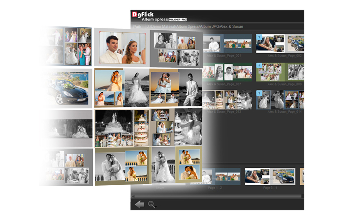 Keep designing Album in favorite Software & Import export pages in Album Xpress Publisher-Pro