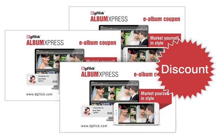 Publish eAlbums through Album Xpress Publisher-Pro using eAlbum Coupons