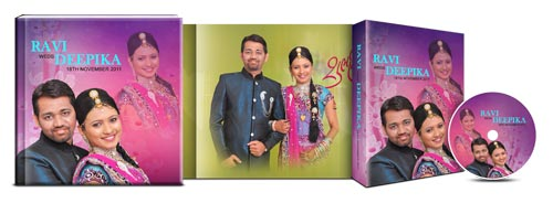 Get 20 theme based designs for ready creation of album page, DVD cover, DVD inlays in DM Xpress