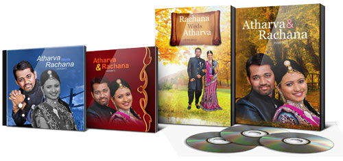 Get variety in designs for DVD covers and inlays with 150+ designs within DM Xpress
