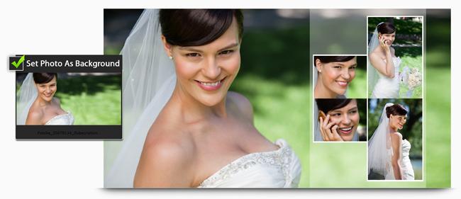 Video Xpress allows you to use photos as Background