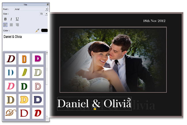 Add Title to enhance Beauty of the Video in Video Xpress