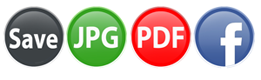 Passport Xpress allows to save & export in JPG, PDF or print directly also you can share on Facebook.