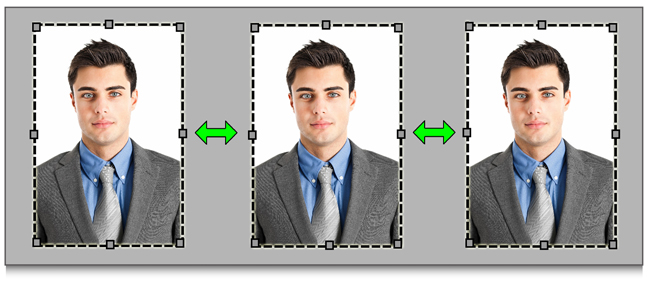 Make Equal and precise space between images while editing within Passport Xpress