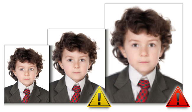 Passport Xpress having inbuilt Quality Indicator which warns you when photo quality is bad