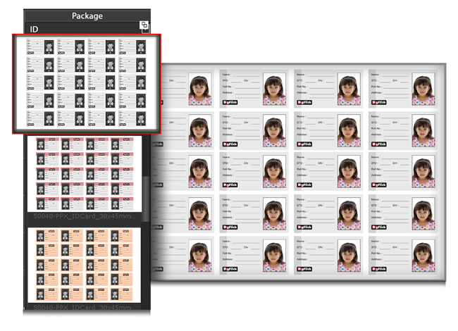 Create Mix Packages with different Photo Sizes in Single Package within Passport Xpress