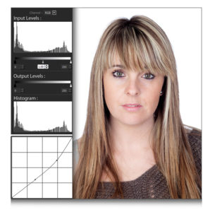 Add Curve & Level in Photos by using tools within Passport Xpress