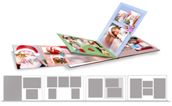 Creative book designing with different layout on every page with Book Xpress