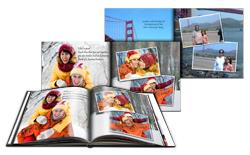 Collect ready book projects and use books designed by you in Book Xpress