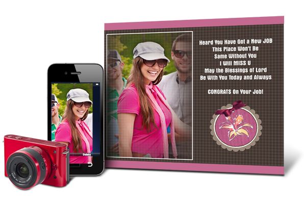 Greeting Card Xpress gives you Ultimate Greeting personalization to add photos, Quotes & Decors