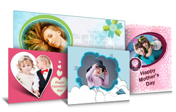 Make your designs look more attractive using ready to use templates in Gift Xpress