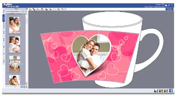 Gift Xpress gives on screen view of designs