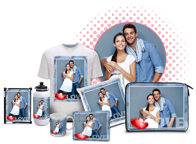 Design gifts like mug, mouse pad, t-shirt, key chain, caps, bottles, pillow covers with Gift Xpress