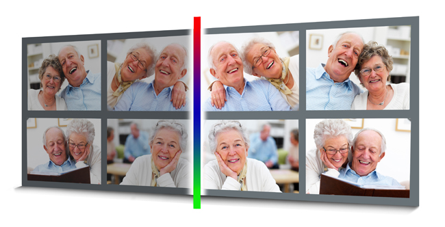 Batch Color correction of multiple photos at a time in Gift Xpress