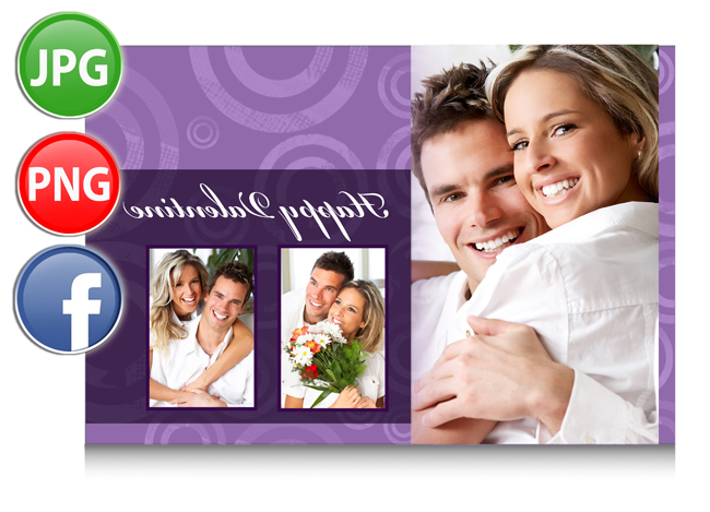 Gift Xpress allows to save & export in JPG, PDF or print directly also you can share on Facebook.