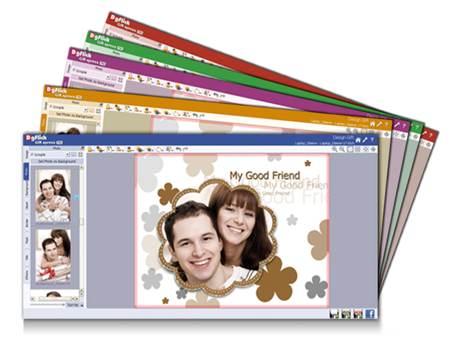 Easy to use interface for making photo importing simple and quick within Gift Xpress